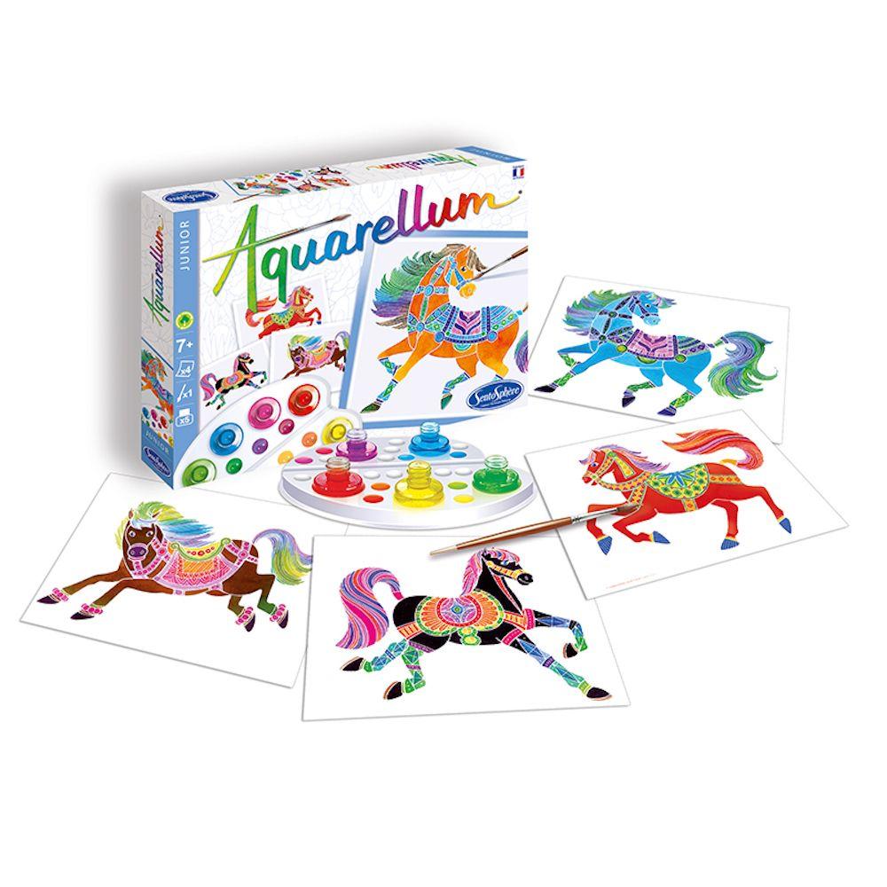 Aquarellum Junior Horses