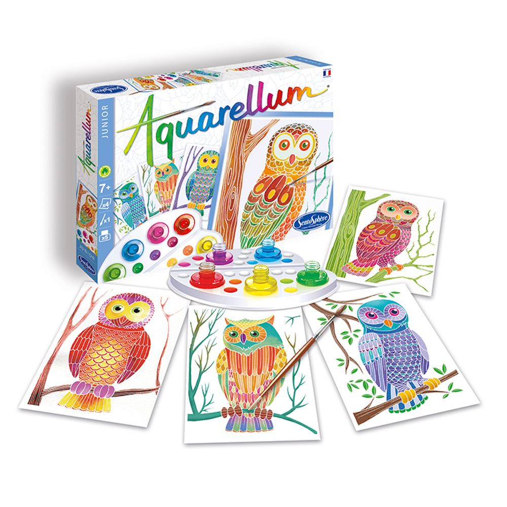 Aquarellum Junior Owls