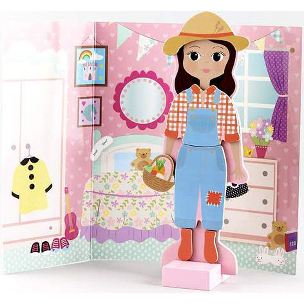 Magnetic Dress Up Doll - Sofia