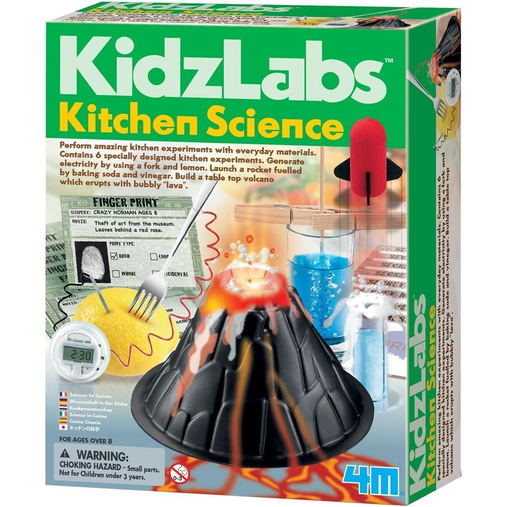 4M KidzLabs Kitchen Science