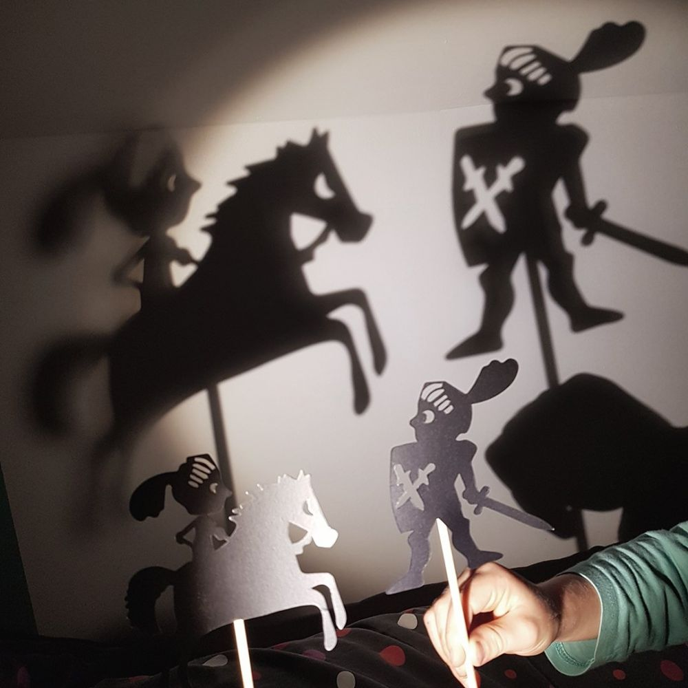 Moulin Roty - The Knights Shadow Puppets