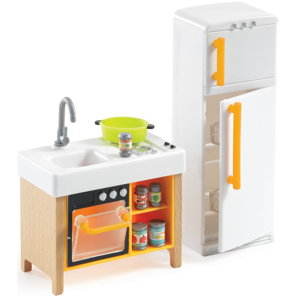 Djeco Petit Home - Compact Kitchen
