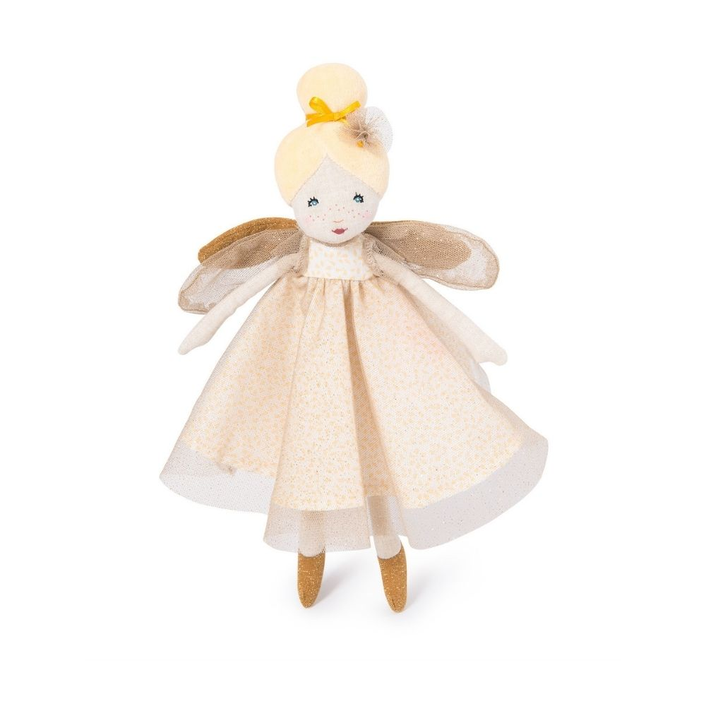 Moulin Roty - Little Golden Fairy Doll 711237
