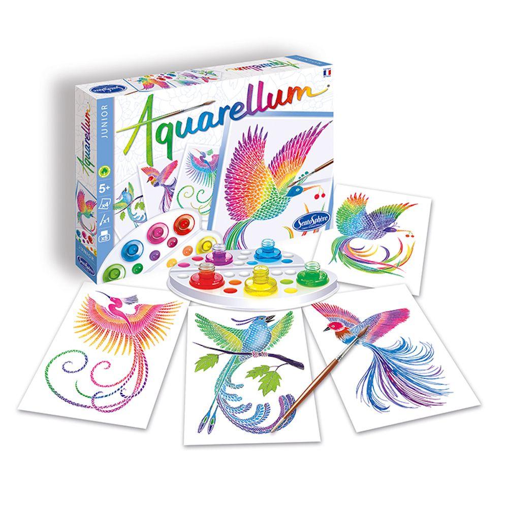 Aquarellum Junior Birds of Paradise