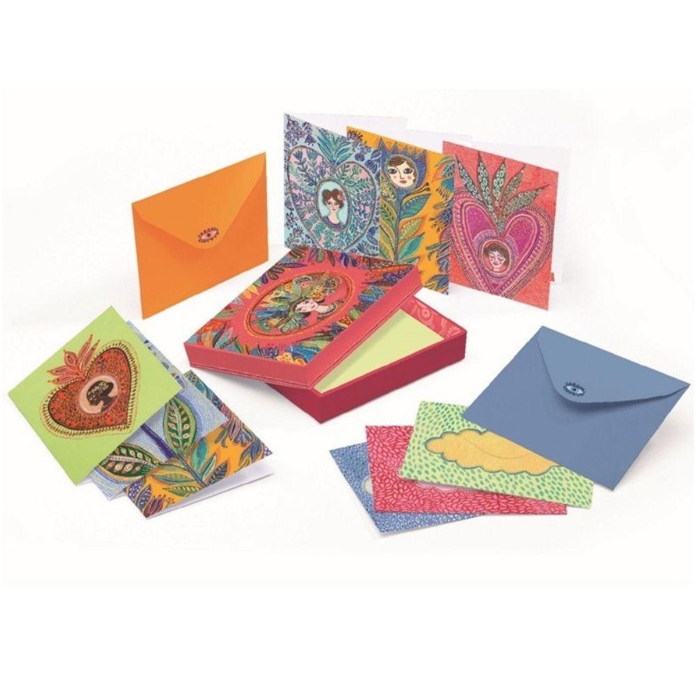 Aurelia Writing Box - Djeco Lovely Paper Stationery