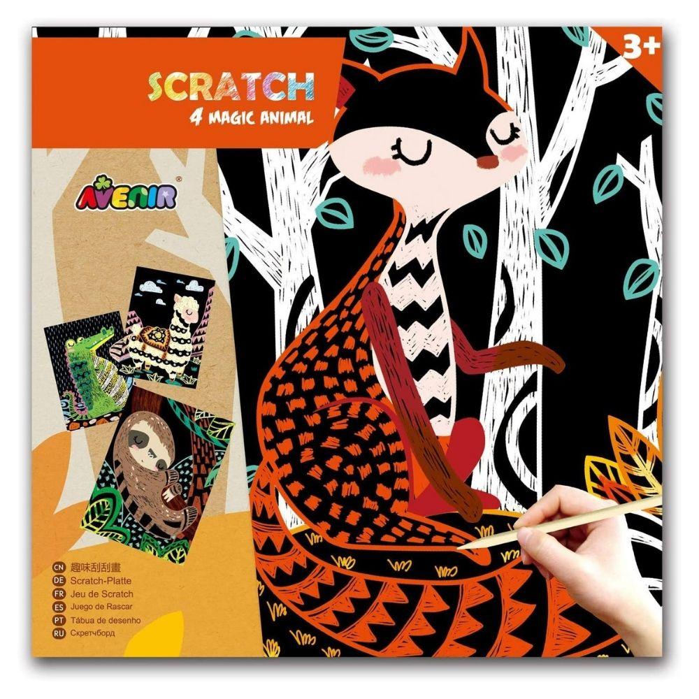 Avenir Scratch - 4 Magic Animal