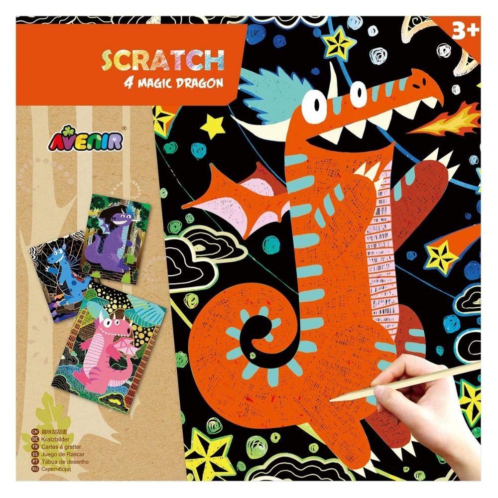 Avenir Scratch - 4 Magic Dragon