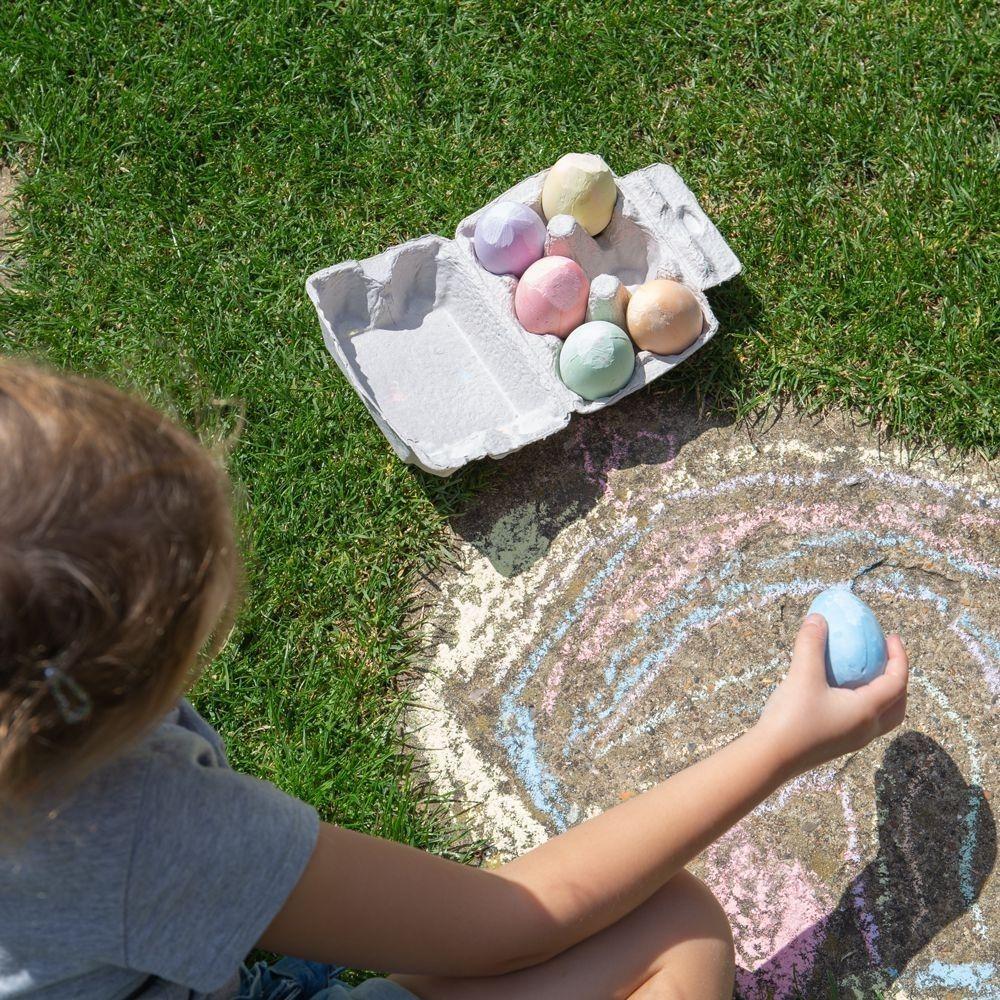 Bigjigs Box of Chalk Eggs 32015