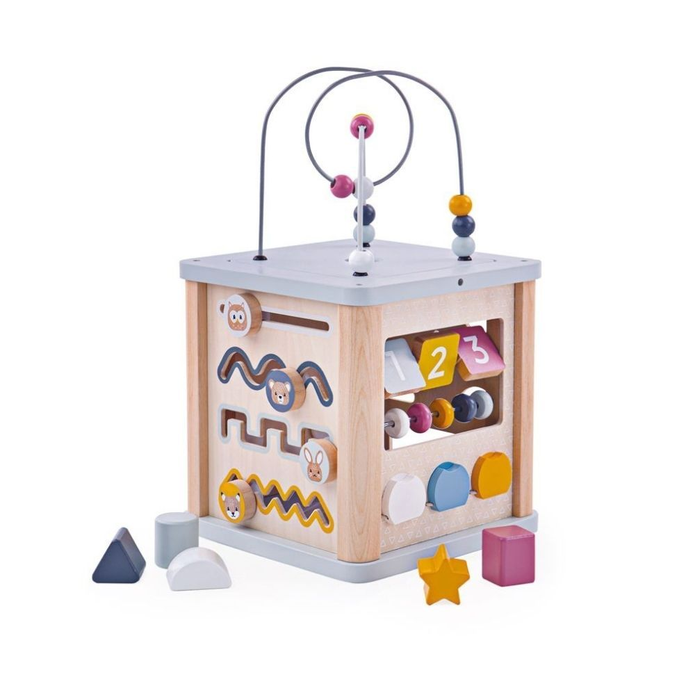 Bigjigs FSC Certified Activity Cube
