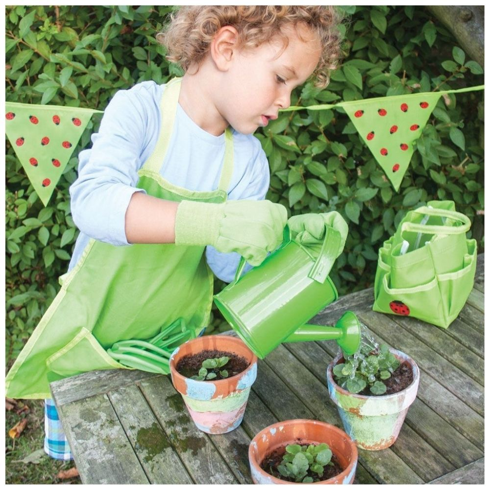 Bigjigs Tote Bag with Gardening Tools