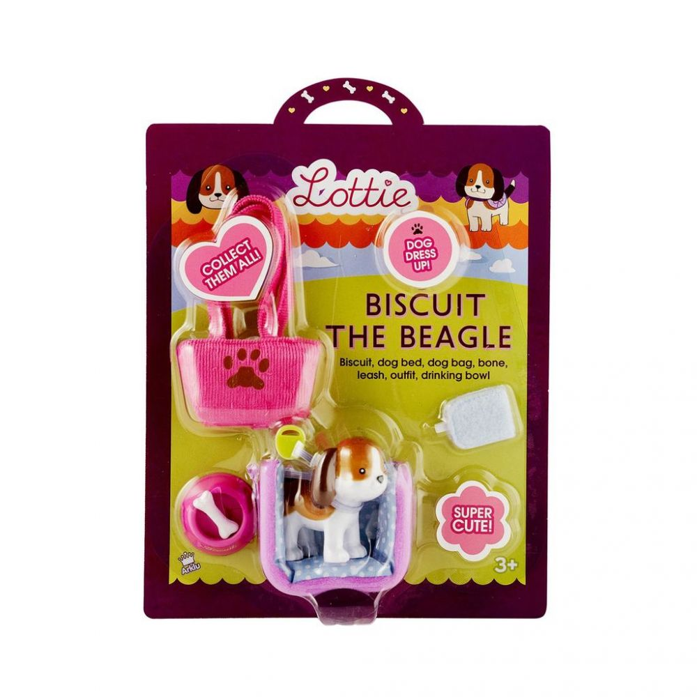 Lottie Doll Accessories - Biscuit the Beagle