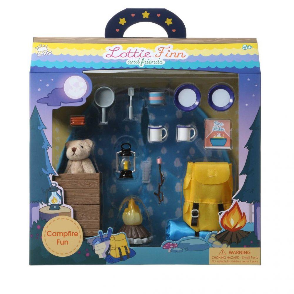 Lottie Doll Campfire Fun