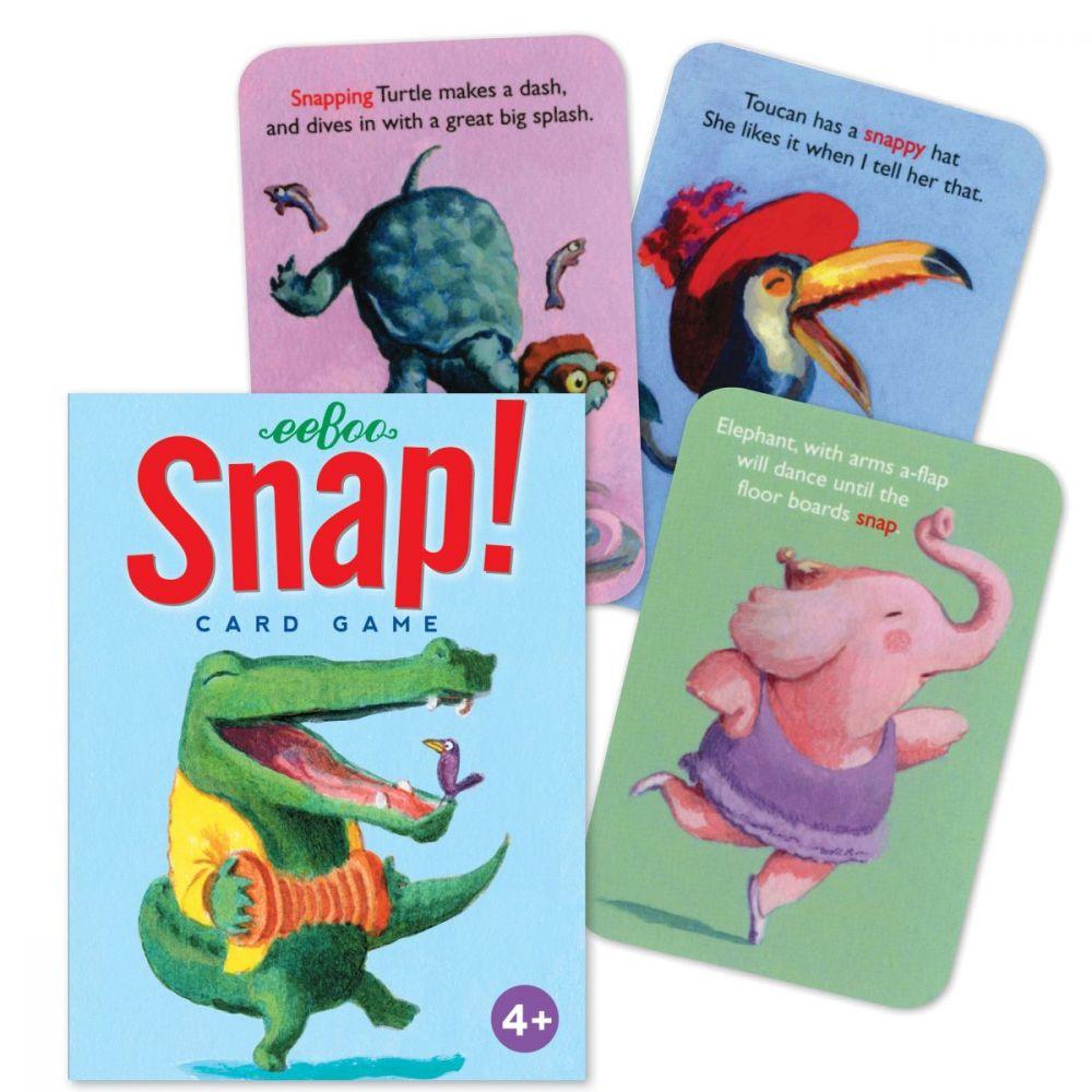Eeboo Snap Card Game