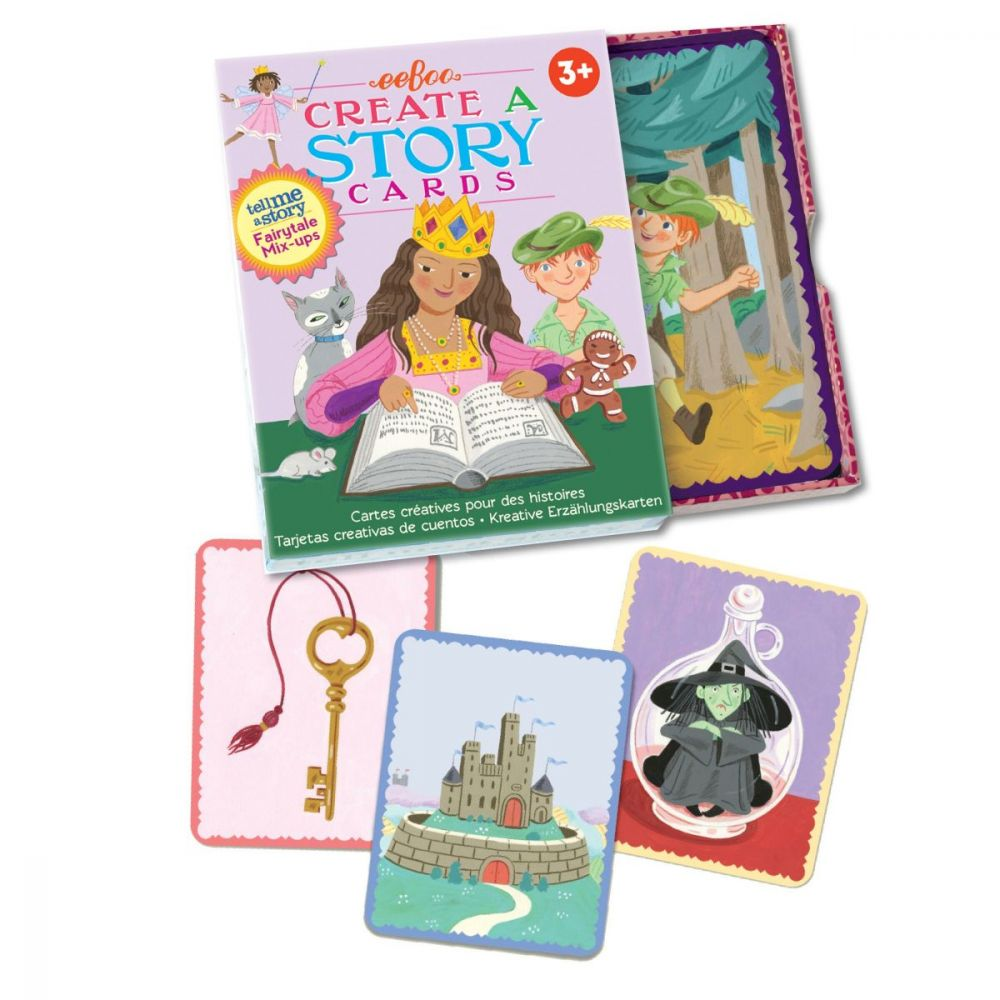 Eeboo Create A Story Cards - Fairytale Mix-Up