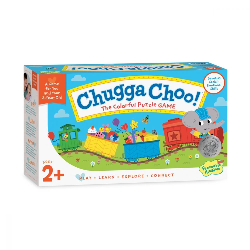 Peaceable Kingdom Chugga Choo Puzzle Game