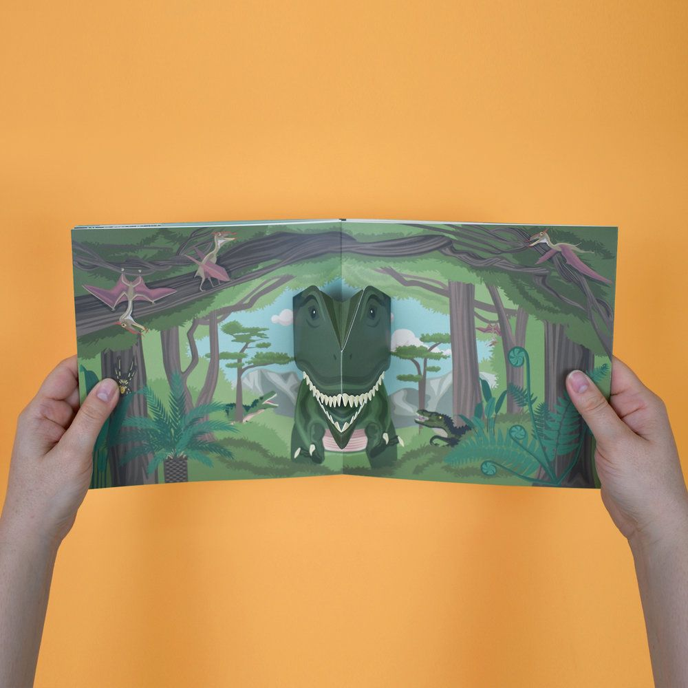 Clockwork Soldier - Make Your Own Pop-Up Dinosaur Book