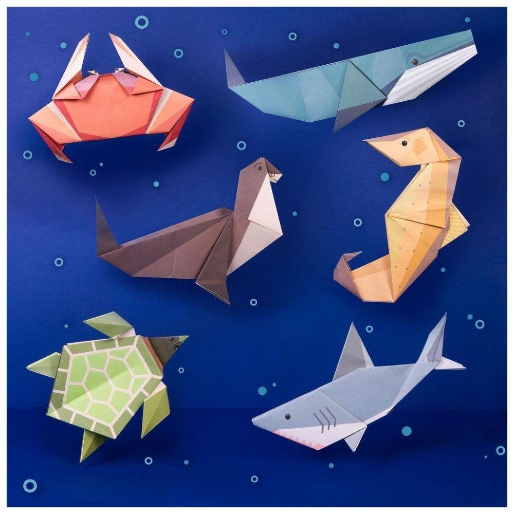 Clockwork Soldier - Create Your Own Giant Ocean Origami