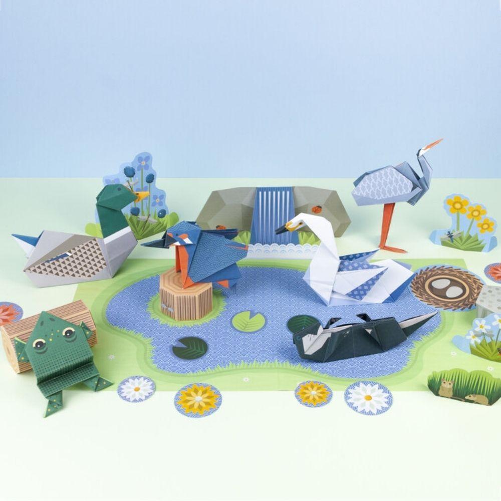 Clockwork Soldier - Wetland Wildlife Origami