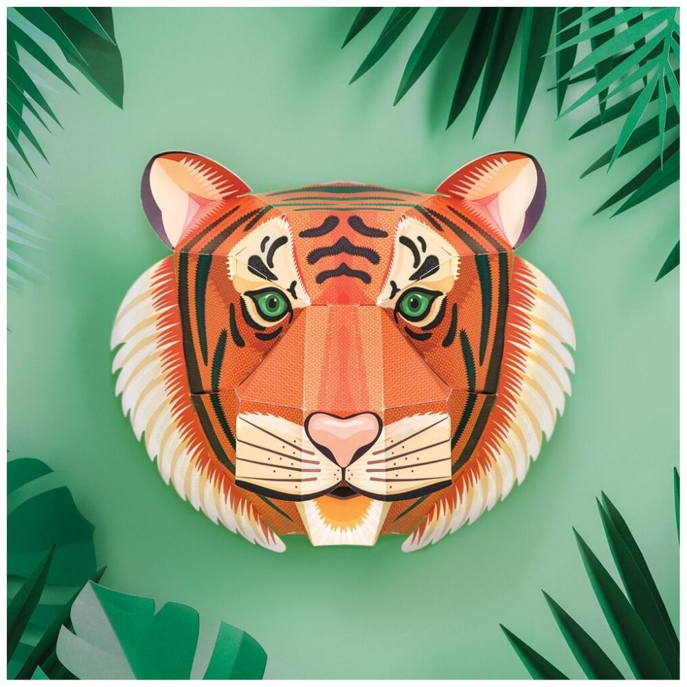 Clockwork Soldier Create Your Own Majestic Tiger Head