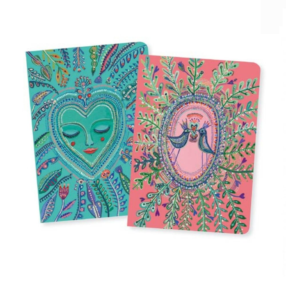 Love Aurelia Small Notebooks - Djeco Lovely Paper