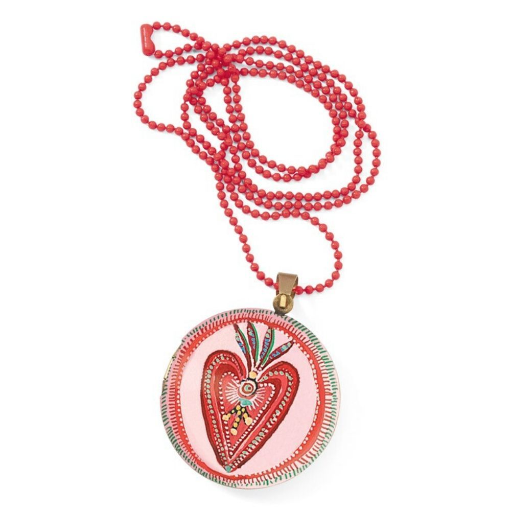 Djeco Lovely Paper - Lovely Surprise Heart Locket Necklace