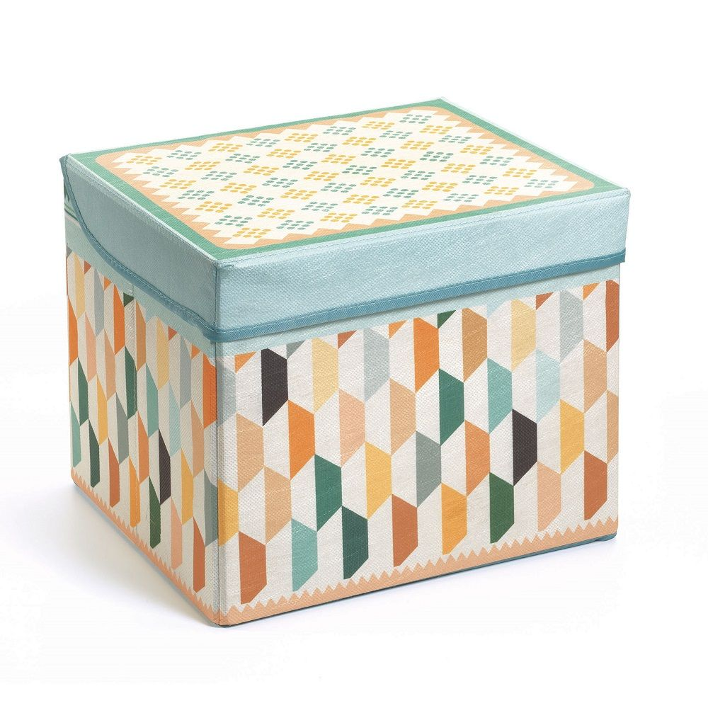 Djeco Seat Toy Box - Oriental