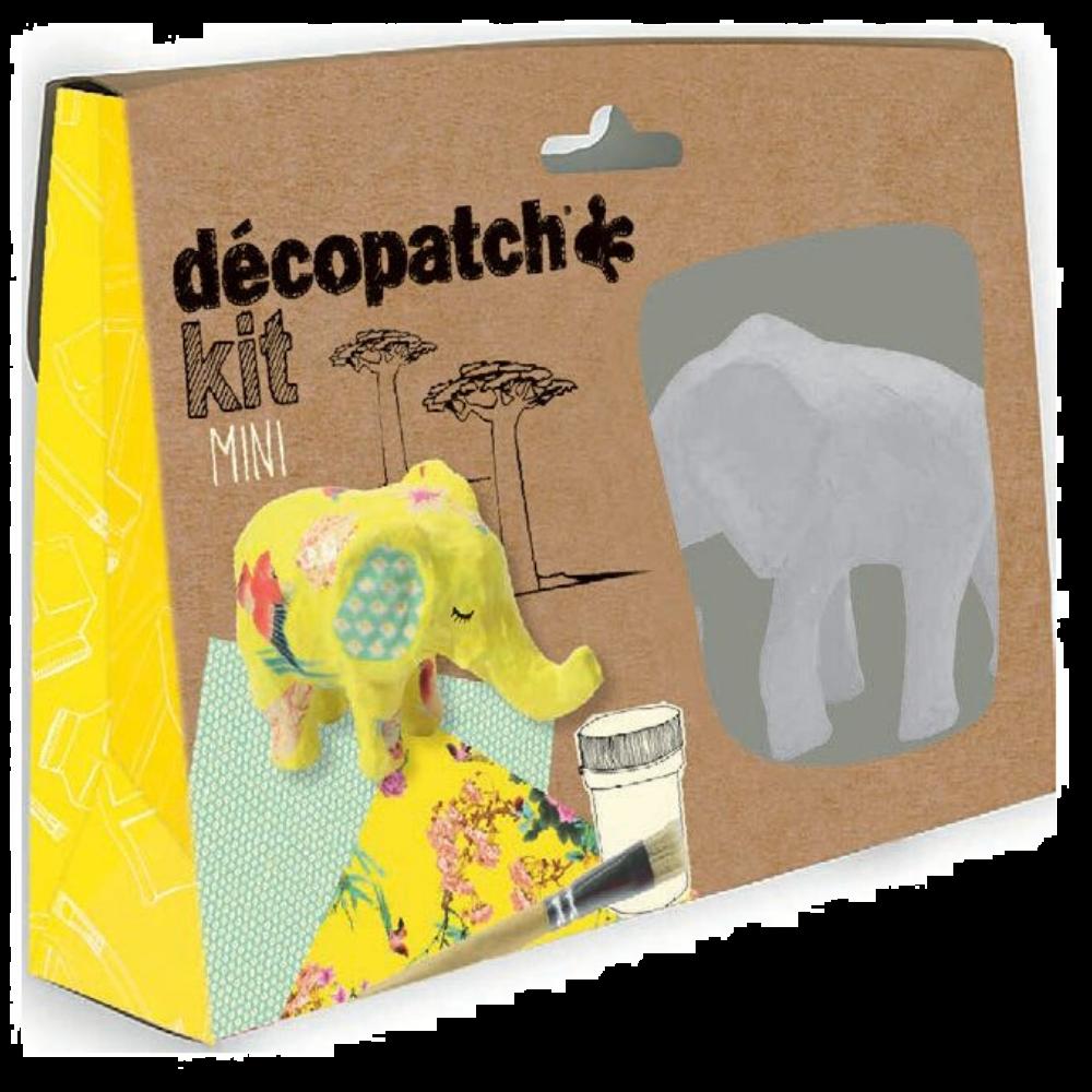 Decopatch Mini Kit - Elephant