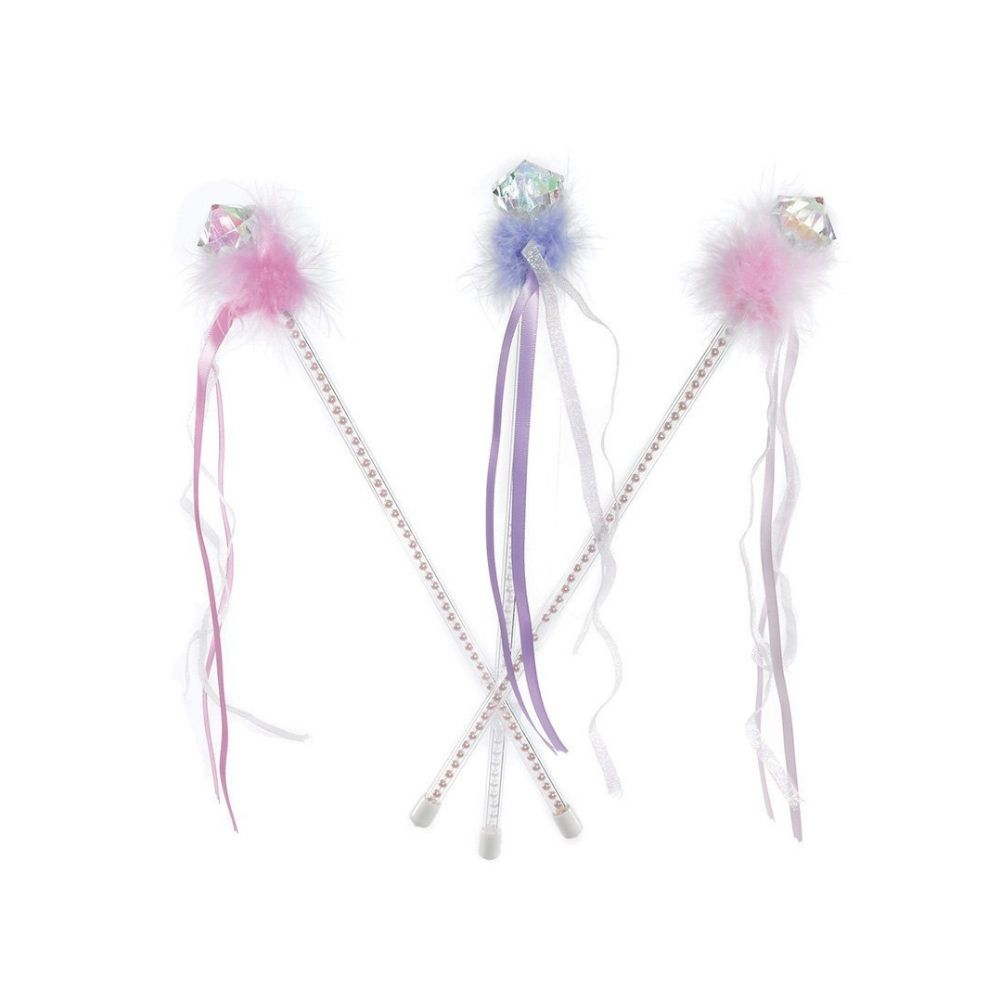 Great Pretenders Diamond and Feather Wands