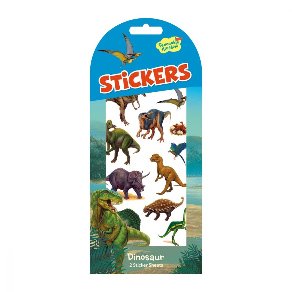 Peaceable Kingdom Dinosaurs Stickers