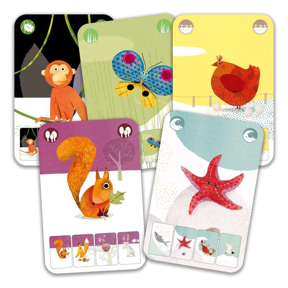 Djeco Playing Cards - Mini Nature