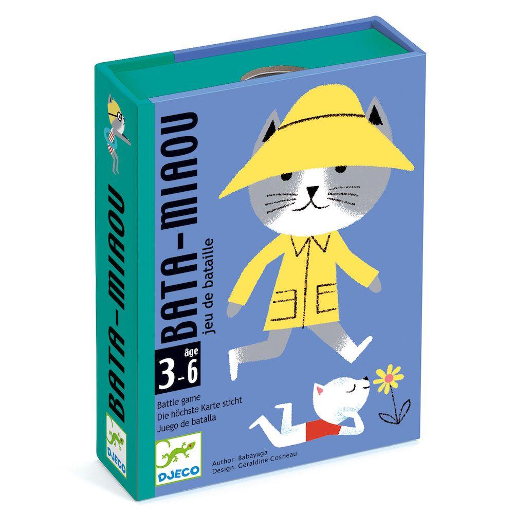 Djeco Card Games - Bata-Miaou