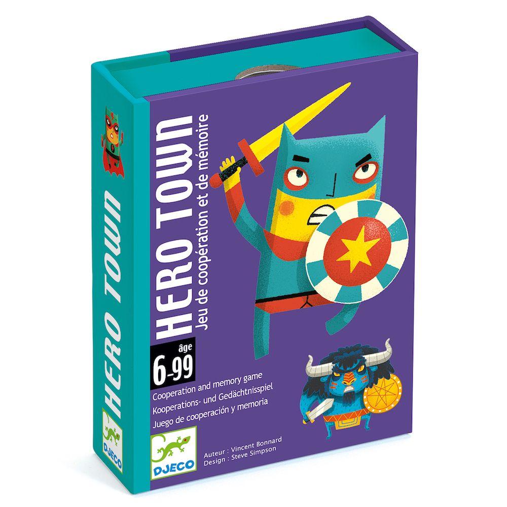 Djeco Card Games - Hero Town