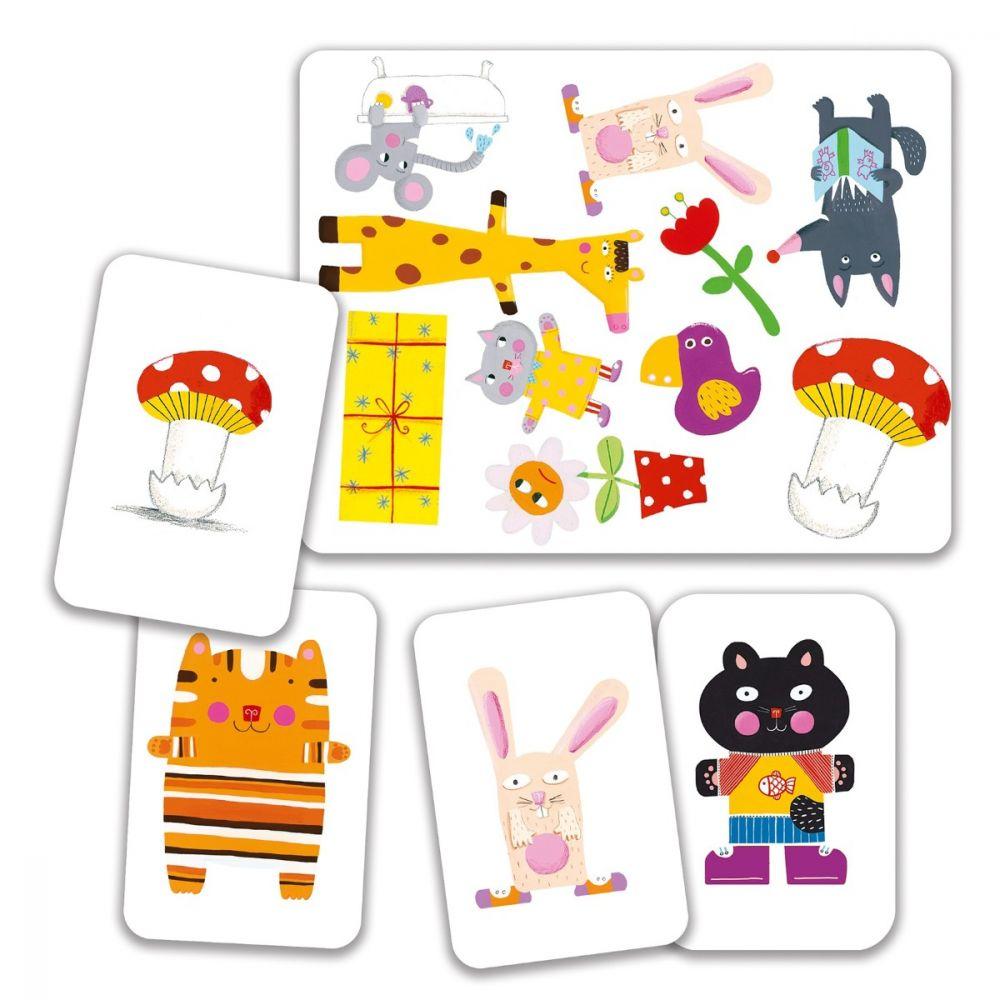 Djeco Playing Cards - Mini Match