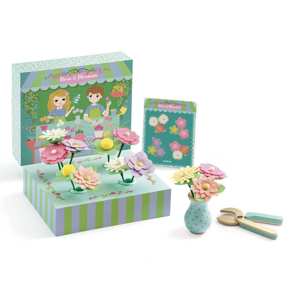 Djeco Pretend Play - Rose & Florian - Create Bouquets