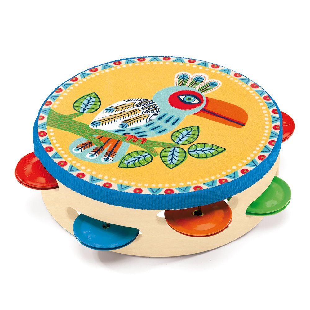 Djeco Animambo Wooden Tambourine