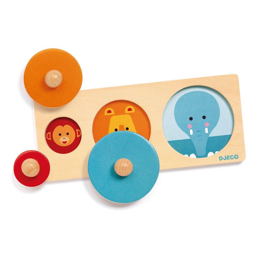 Djeco Wooden Puzzle Biga Basic