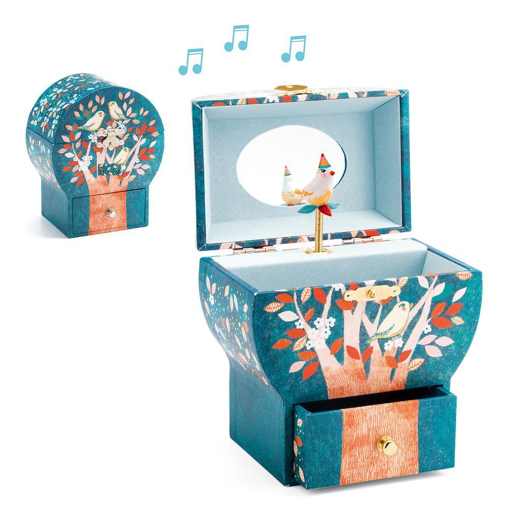 Djeco Wooden Musical Box - Poetic Tree
