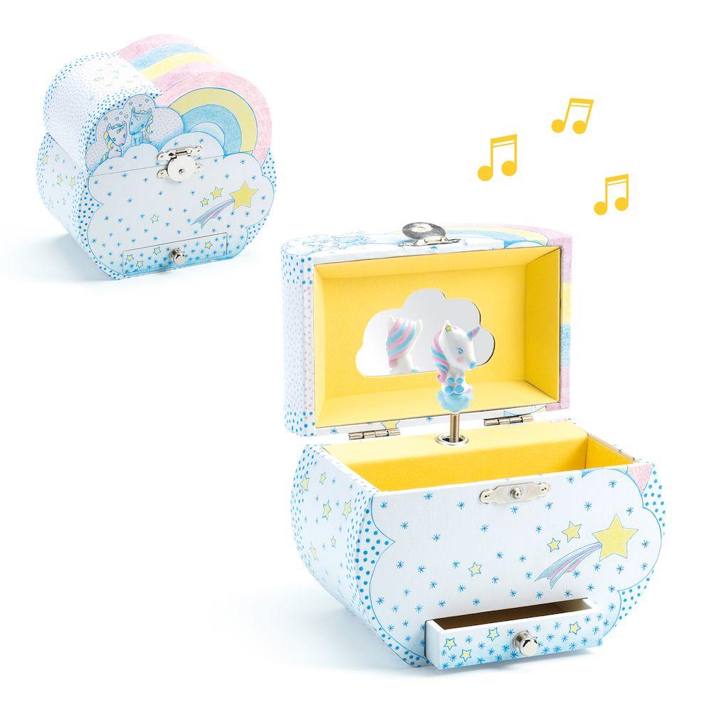 Djeco Musical Boxes  -  Dream of Unicorns