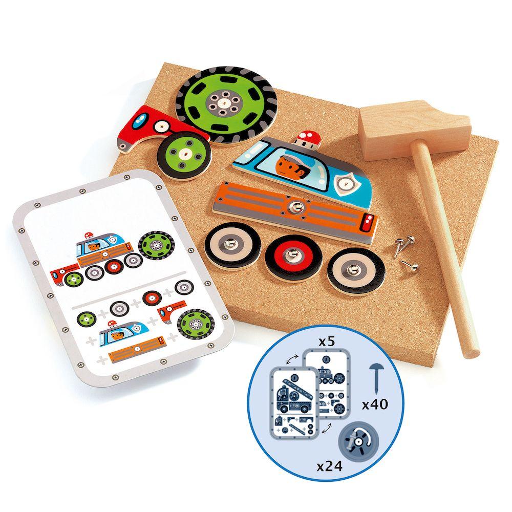 Djeco Tap Tap Vehicles