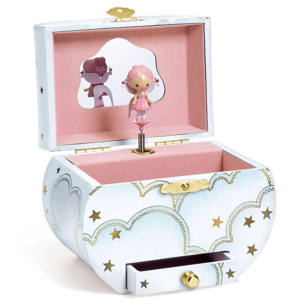 Djeco Elfe's Song Musical Jewellery Box