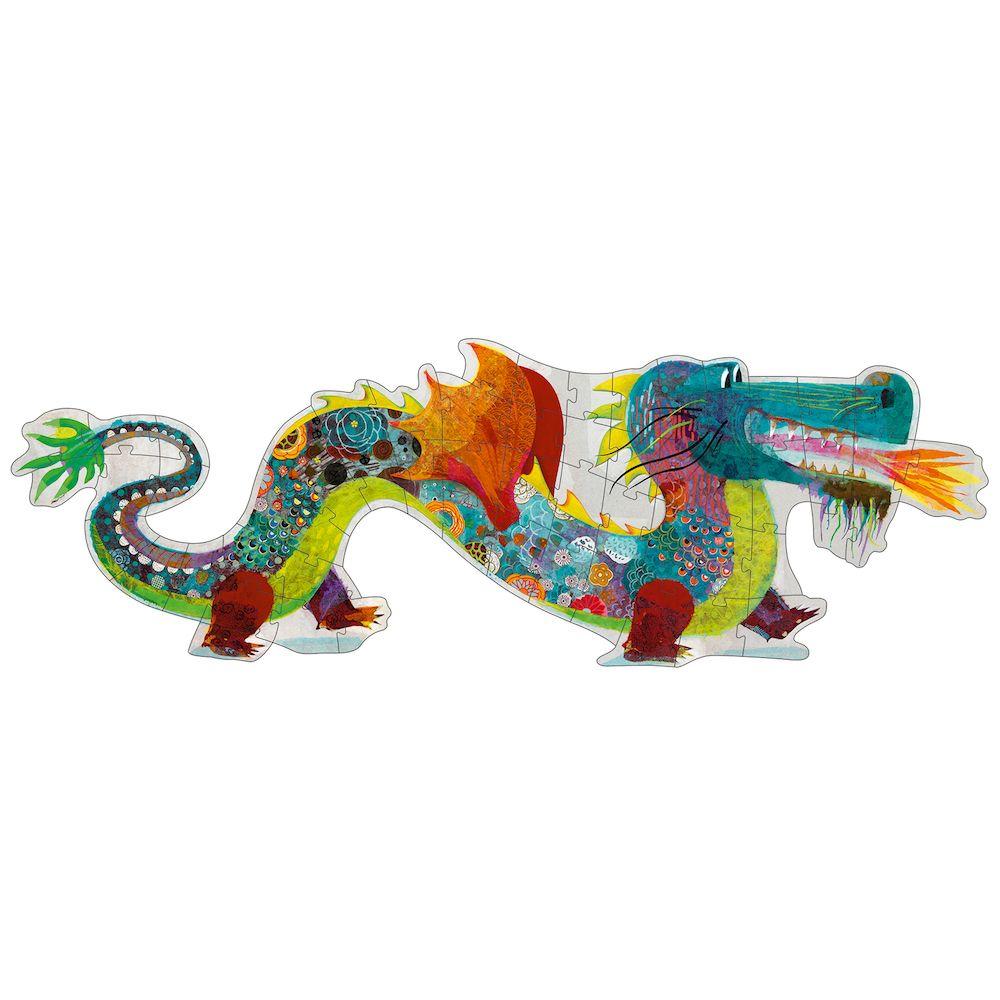 Leon the dragon - Djeco Puzzle