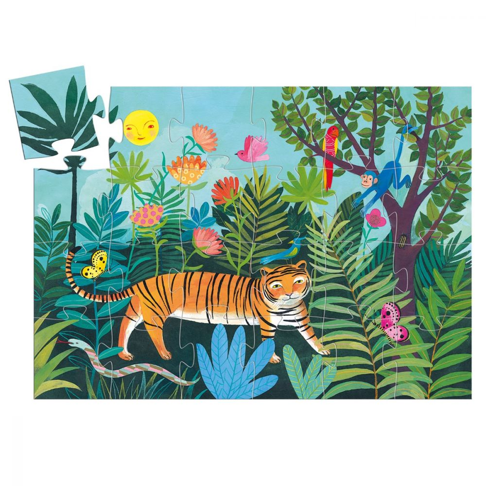 Djeco Puzzle - The Tiger's Walk