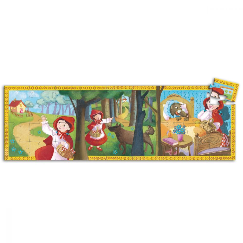 Djeco Puzzle Little Red Riding Hood