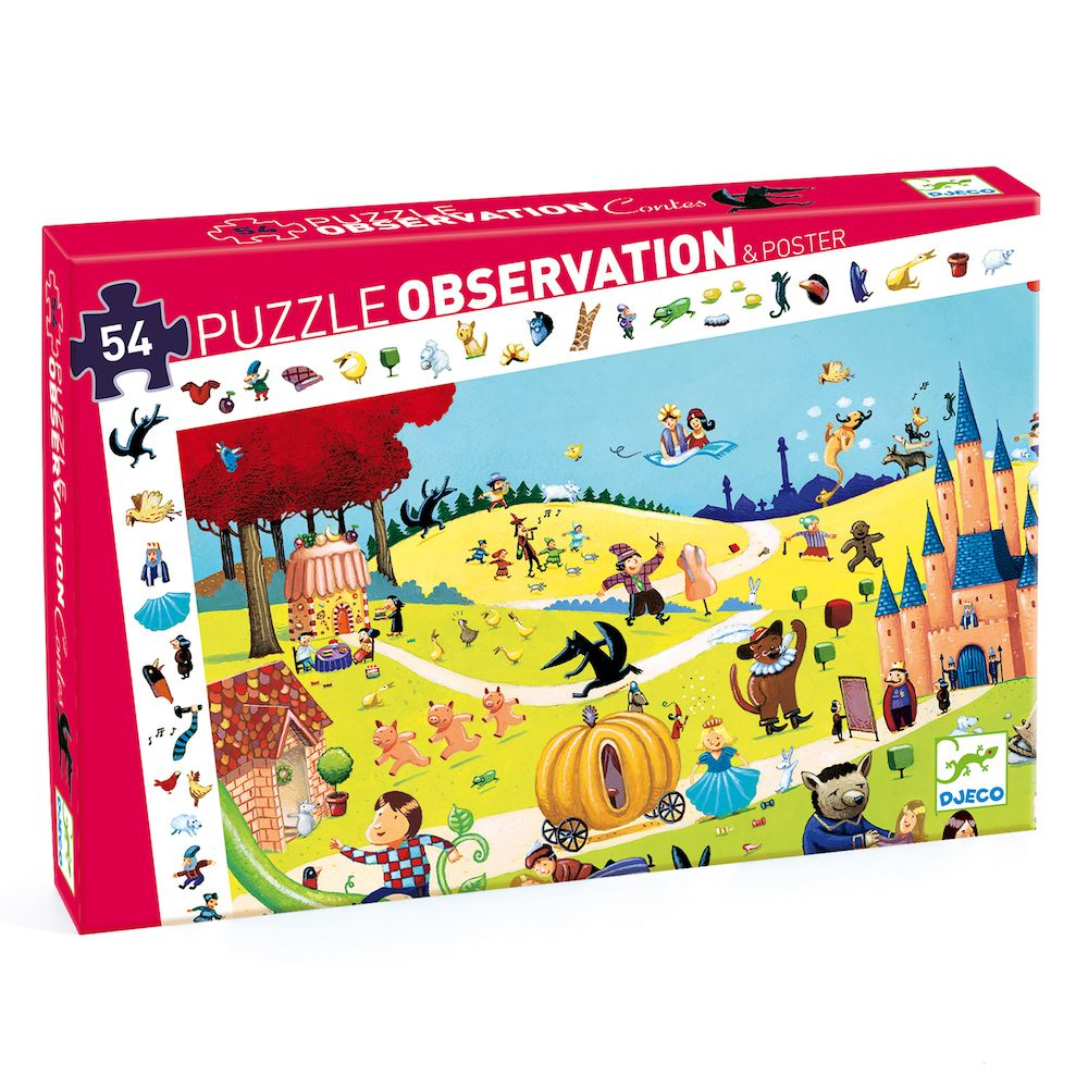 Tales - Djeco Observation Puzzle