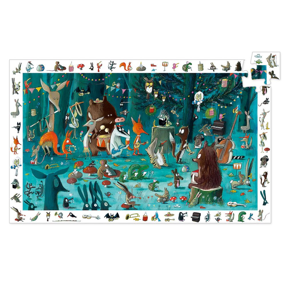 Djeco Observation Puzzle The Orchestra FSC Mix