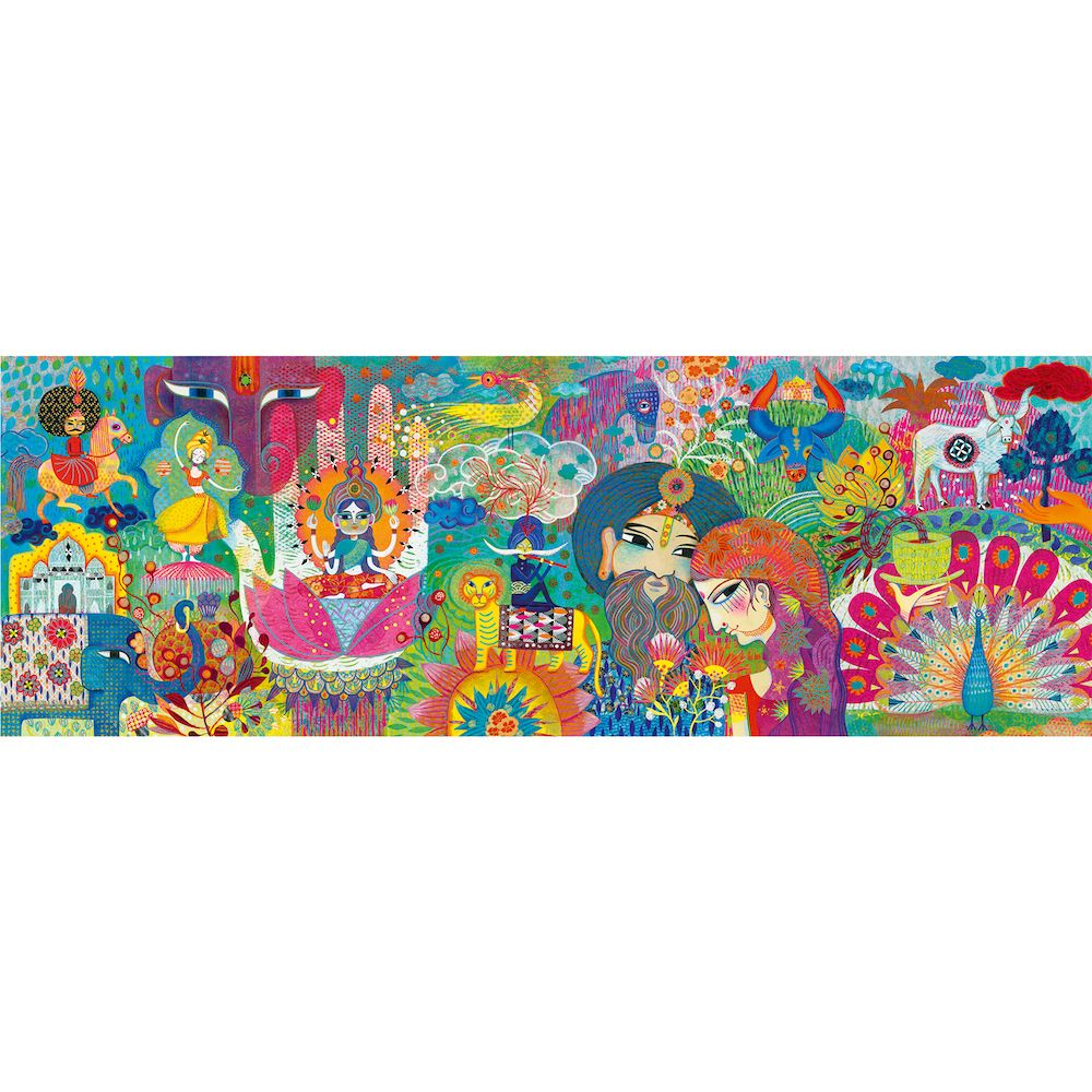 Djeco Gallery Puzzle Magic India