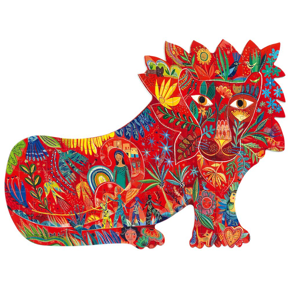 Lion - Djeco Puzzle Art