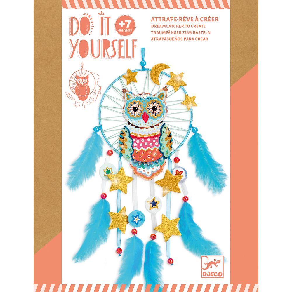 Djeco Do It Yourself - Dreamcatcher Golden Owl