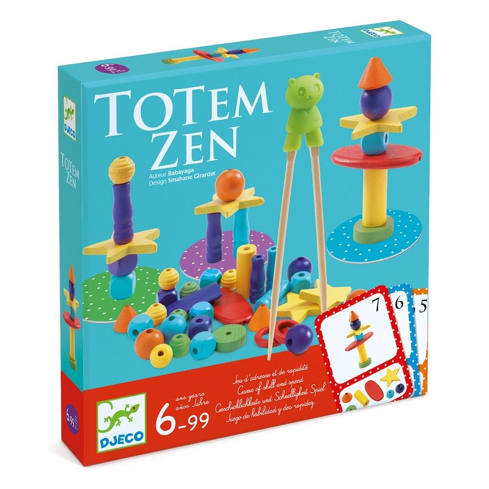 Djeco Totem Zen - A Game of Skill and Speed