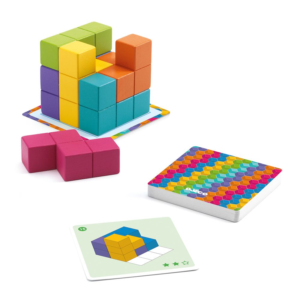 Djeco Cubissimo - A Game of Patience
